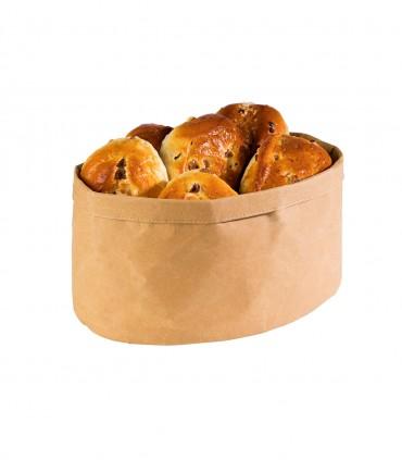Corbeille Kraft ovale
